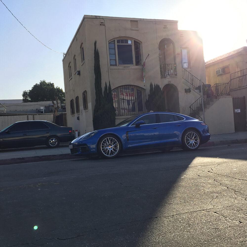 Porsche Panamera Filmproduktion Nick Woodman - Foto - 9