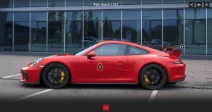 Porsche Born in Flacht 360