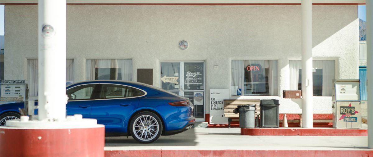 Porsche Panamera Filmproduktion Nick Woodman